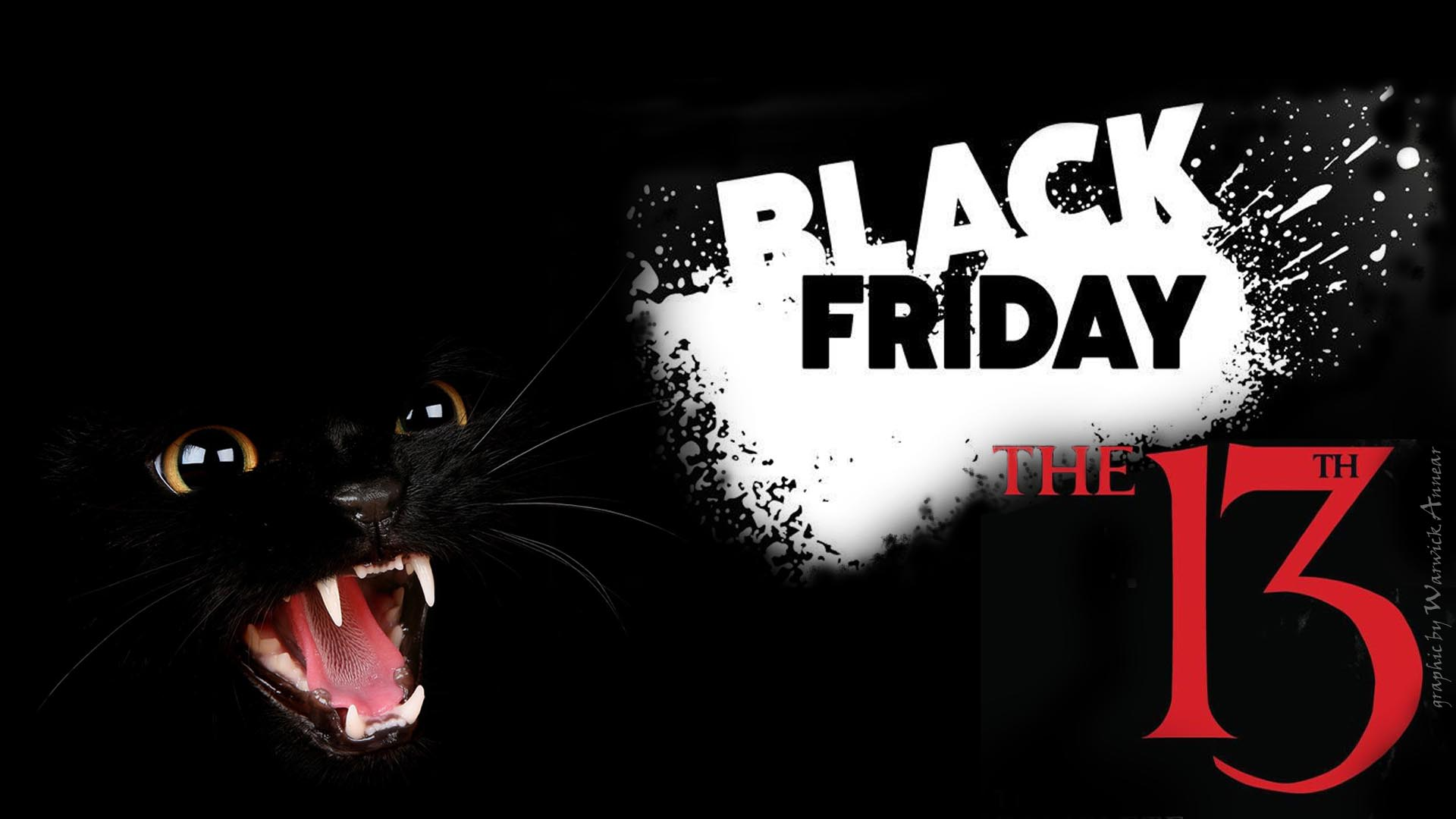 Black Friday the 13th HD Wallpaper Background Image 1920x1080 1920x1080