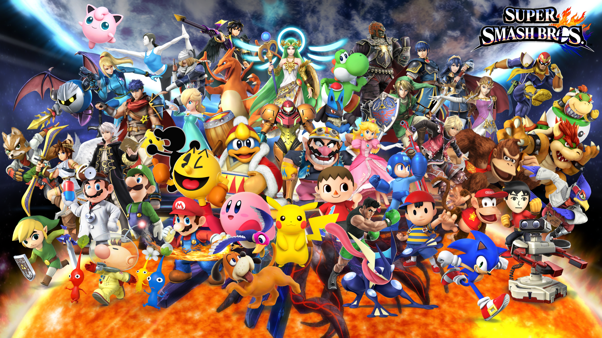 how to get super smash bros on pc