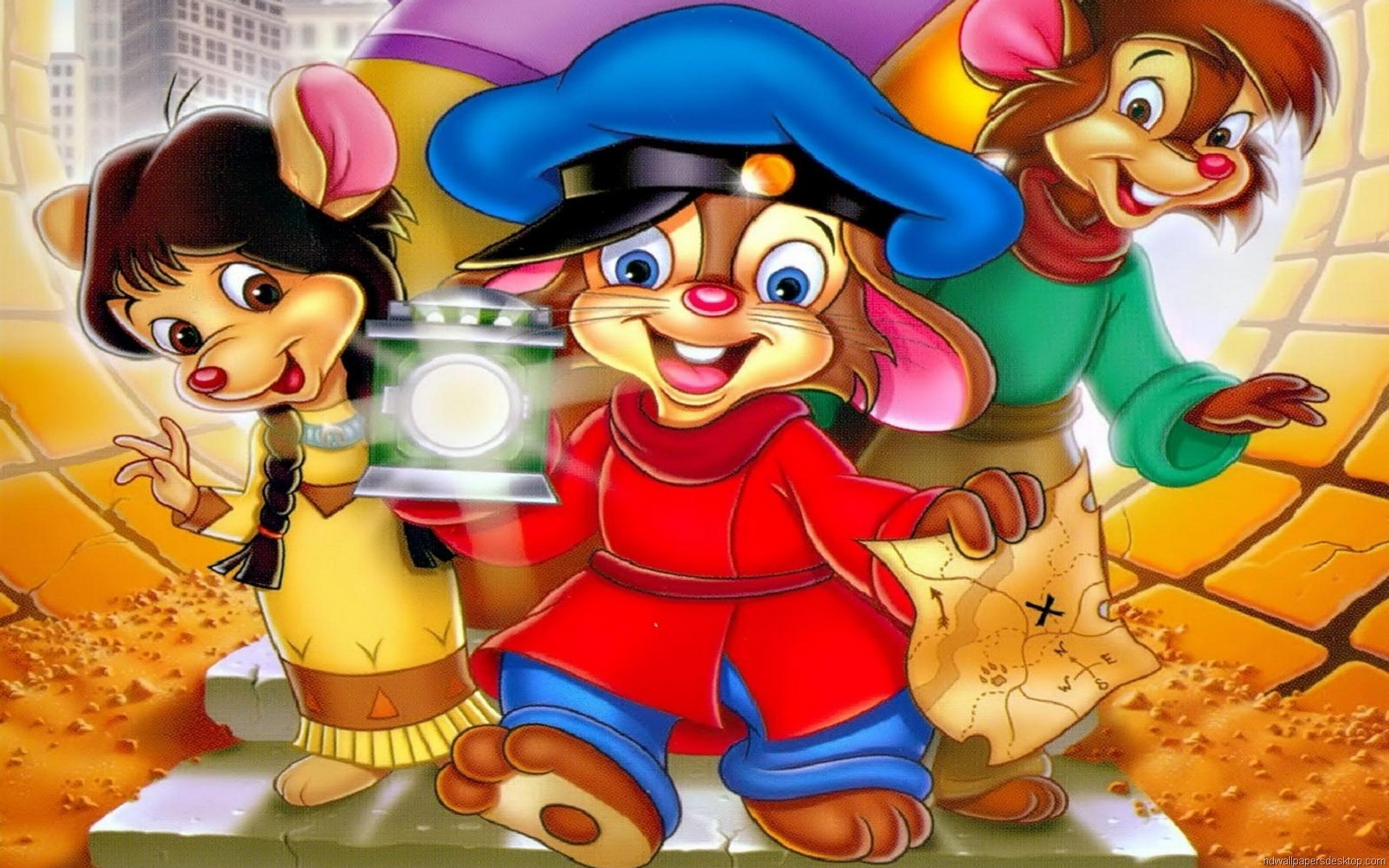 Hd Wallpaper Cartoon Characters Wallpapersafari