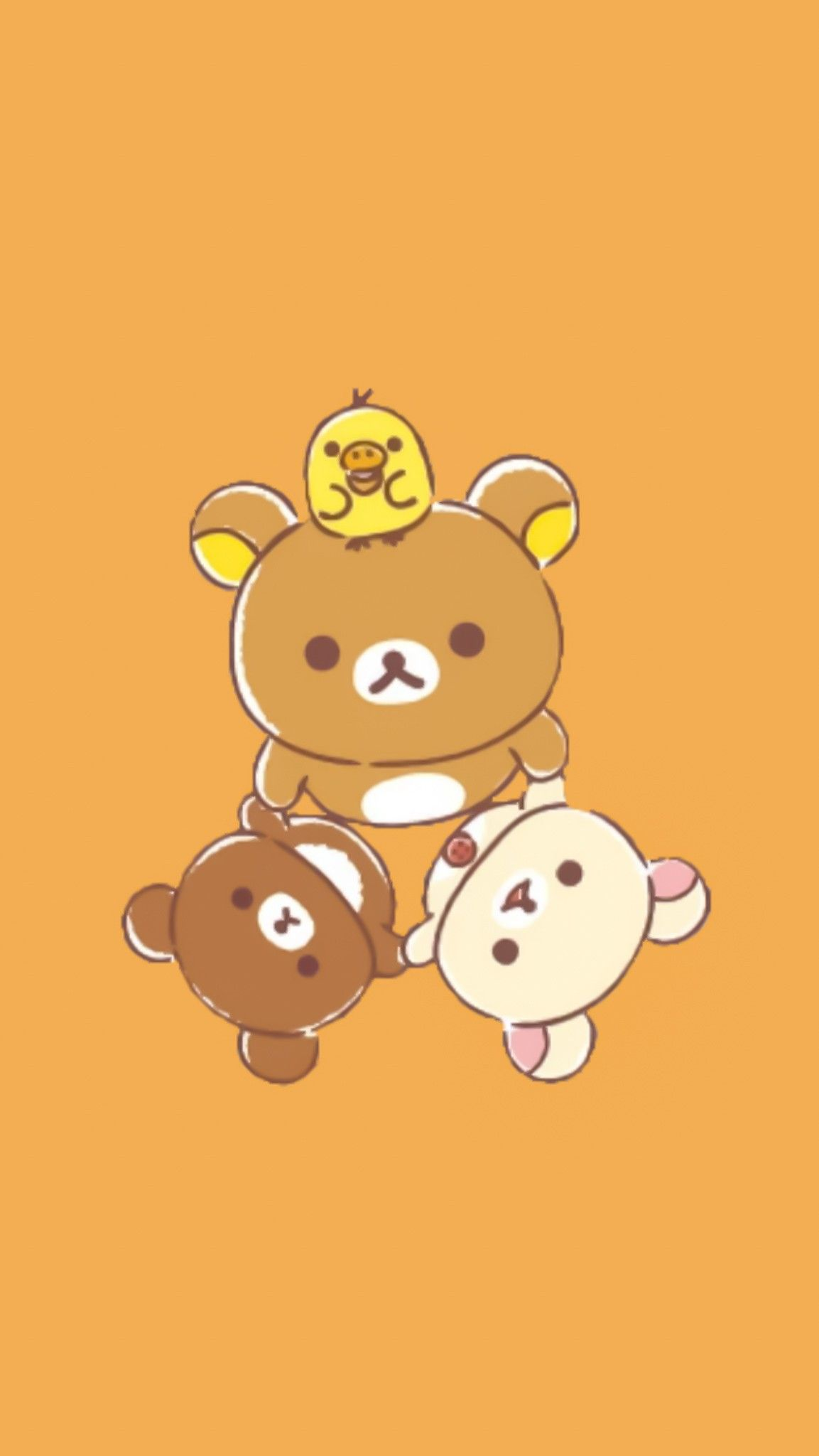 Pin by APOAME on Rilakkuma BG Rilakkuma wallpaper Rilakuma 1153x2048