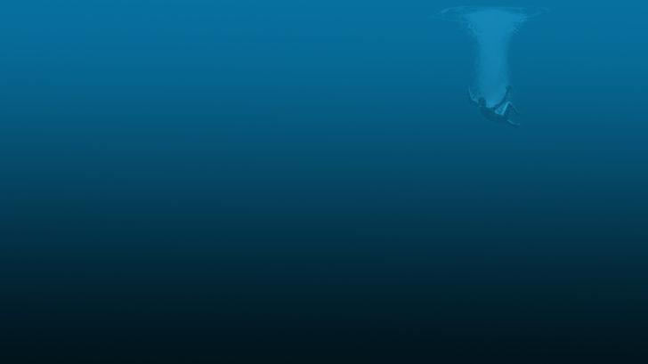 Deep Sea Wallpaper 728x409