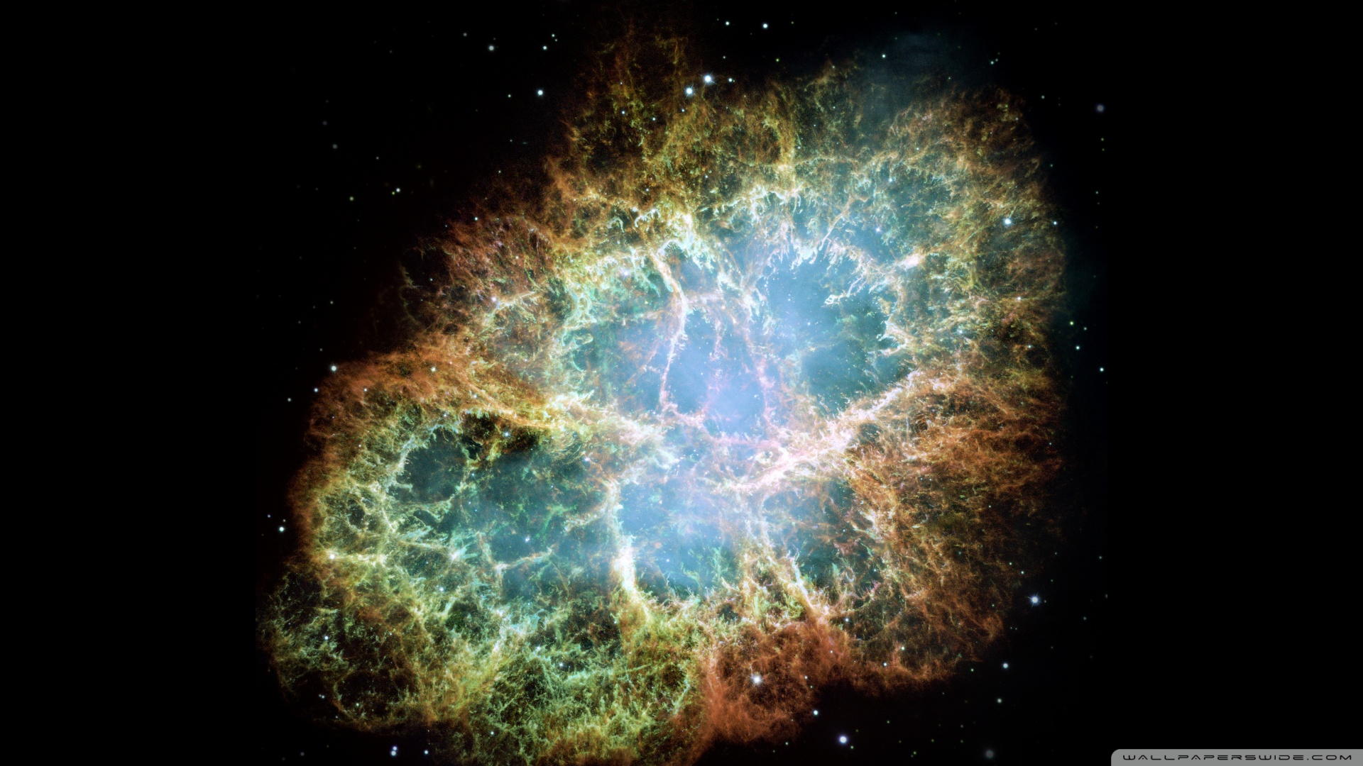 Crab Nebula Wallpaper 1920x1080 Crab Nebula 1920x1080