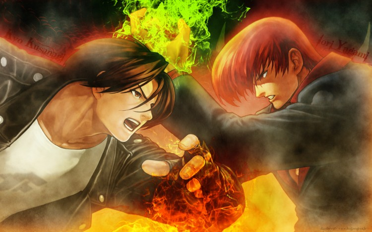 Wallpapers Video Games Wallpapers King of Fighters Kyo 750x469