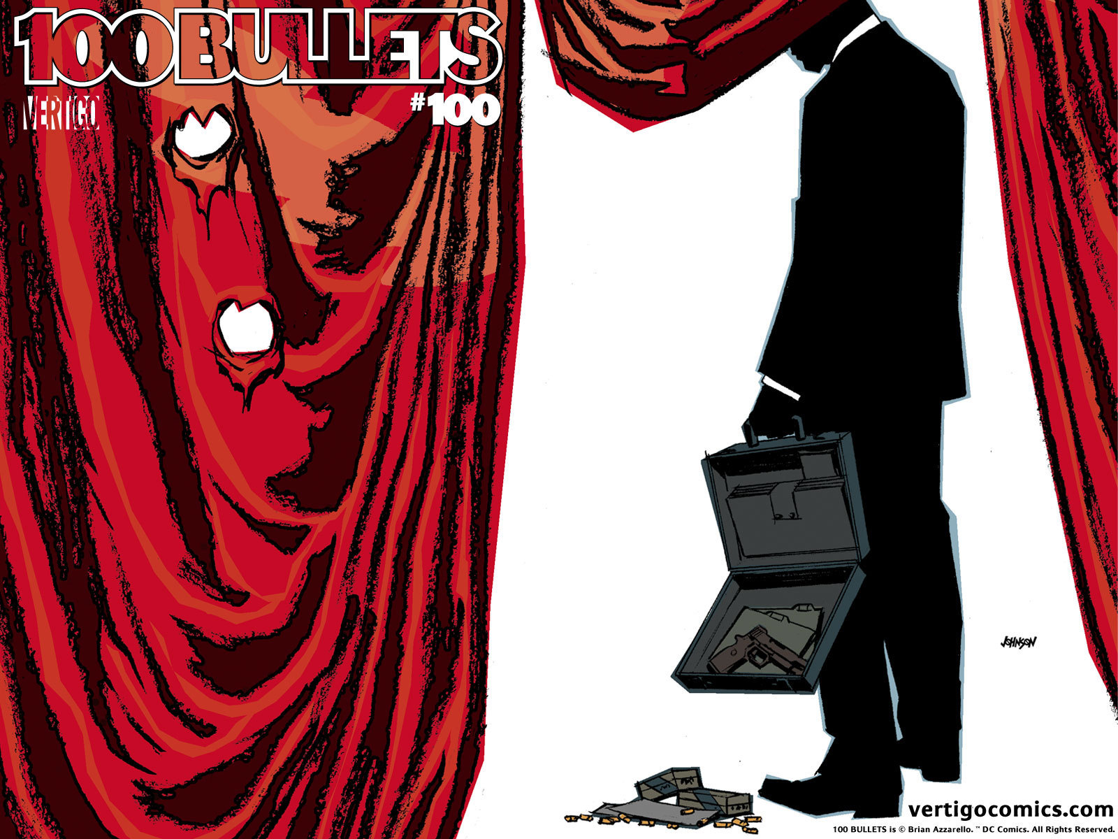 100 Bullets Official Vertigo Wallpapers   Vertigo Comics 1600x1200