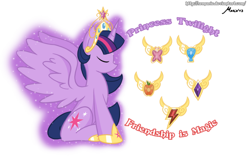 MLP Tribute to Princess Twilight by SrMario 800x514