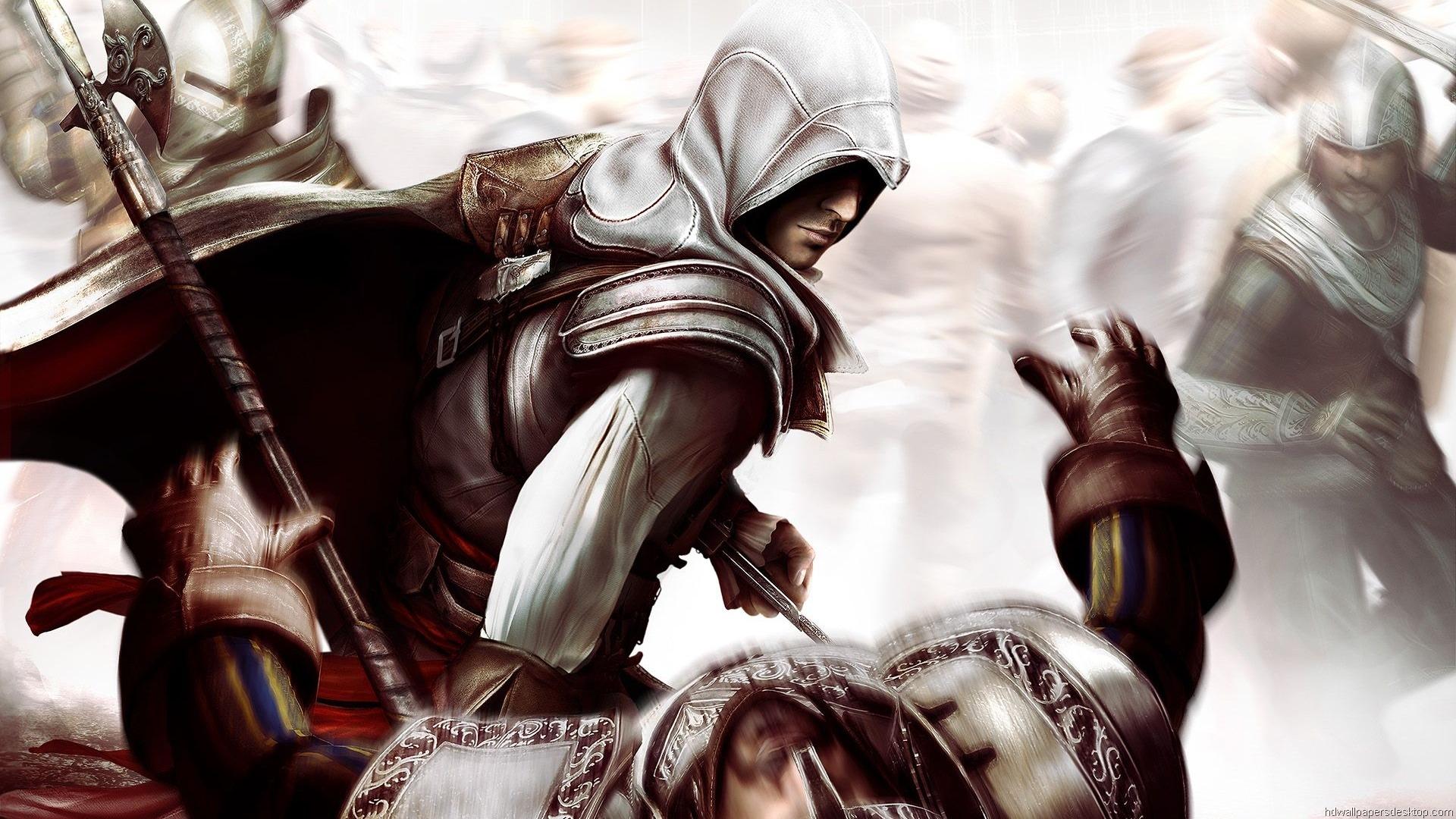 Assassins Creed Brotherhood HD wallpapers Game Wallpaper Assassins 1920x1080