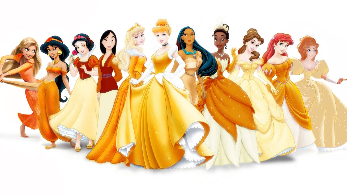 wallpapers Rapunzel Jasmine Disney Princess Disney Princess Movies 1366x768