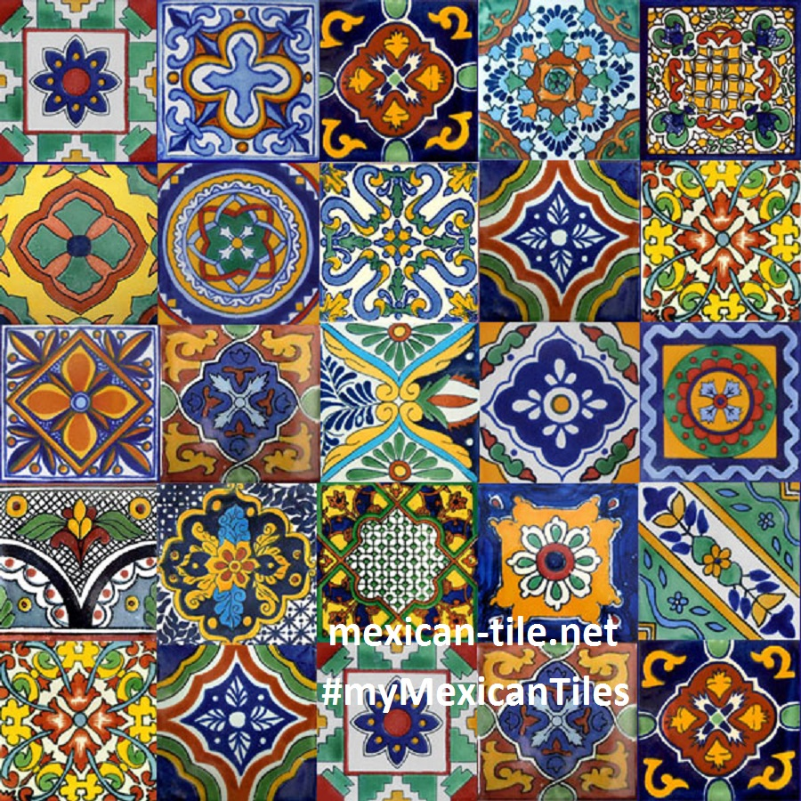 Mexican Tiles   kitchen bath stairs 900x900