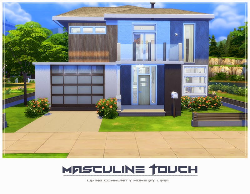 Free Download The Sims 4 Masculine Touch House Homeless Sims