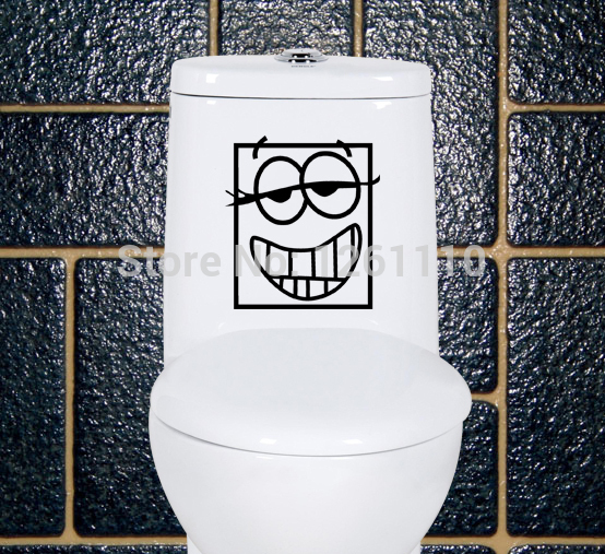 Funny Bathroom Wallpaper Promotion Online Shopping for Promotional 554x507