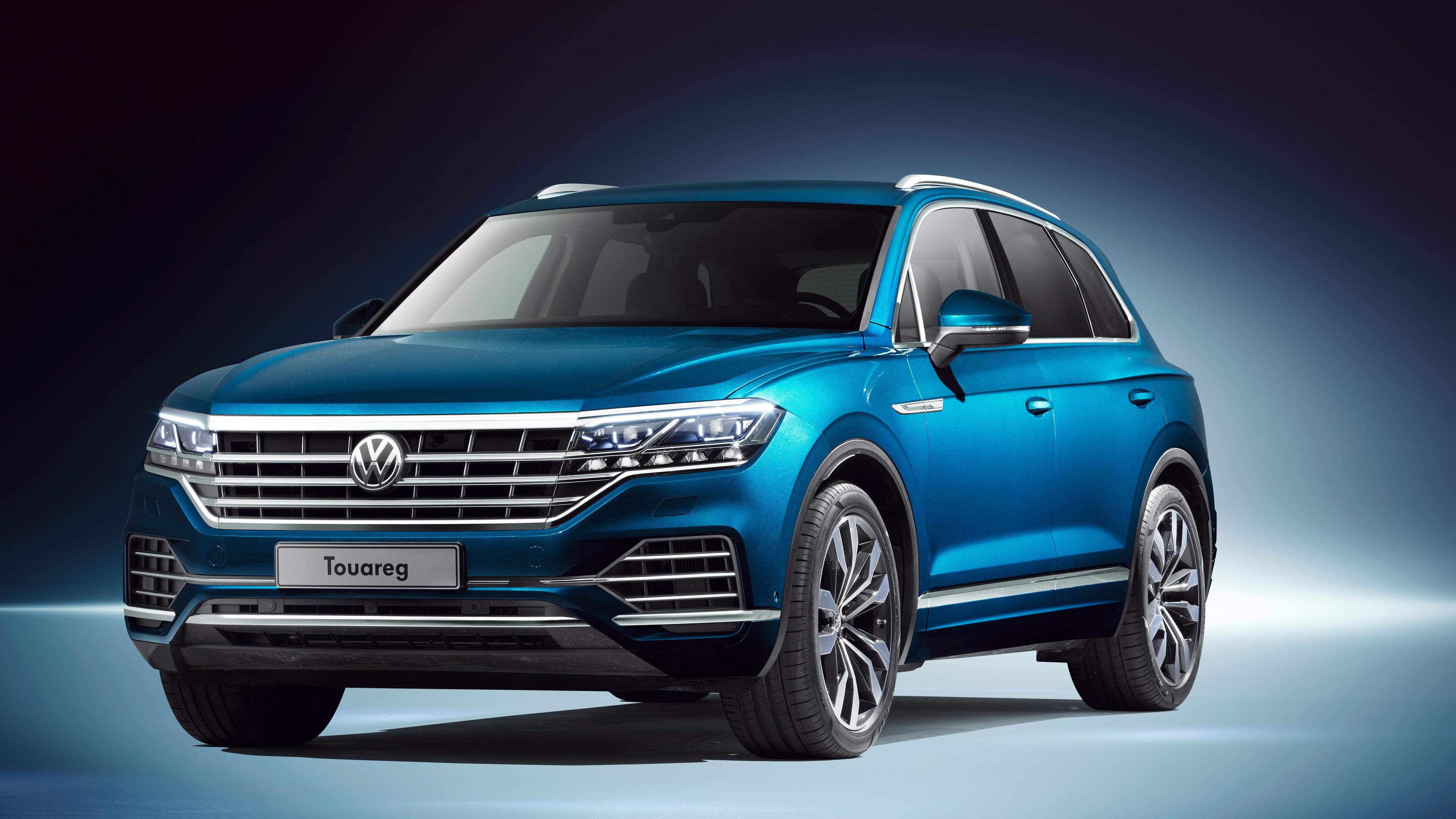 2018 Volkswagen Touareg V6 TDi 4K 3 Wallpaper HD Car Wallpapers 4096x2304