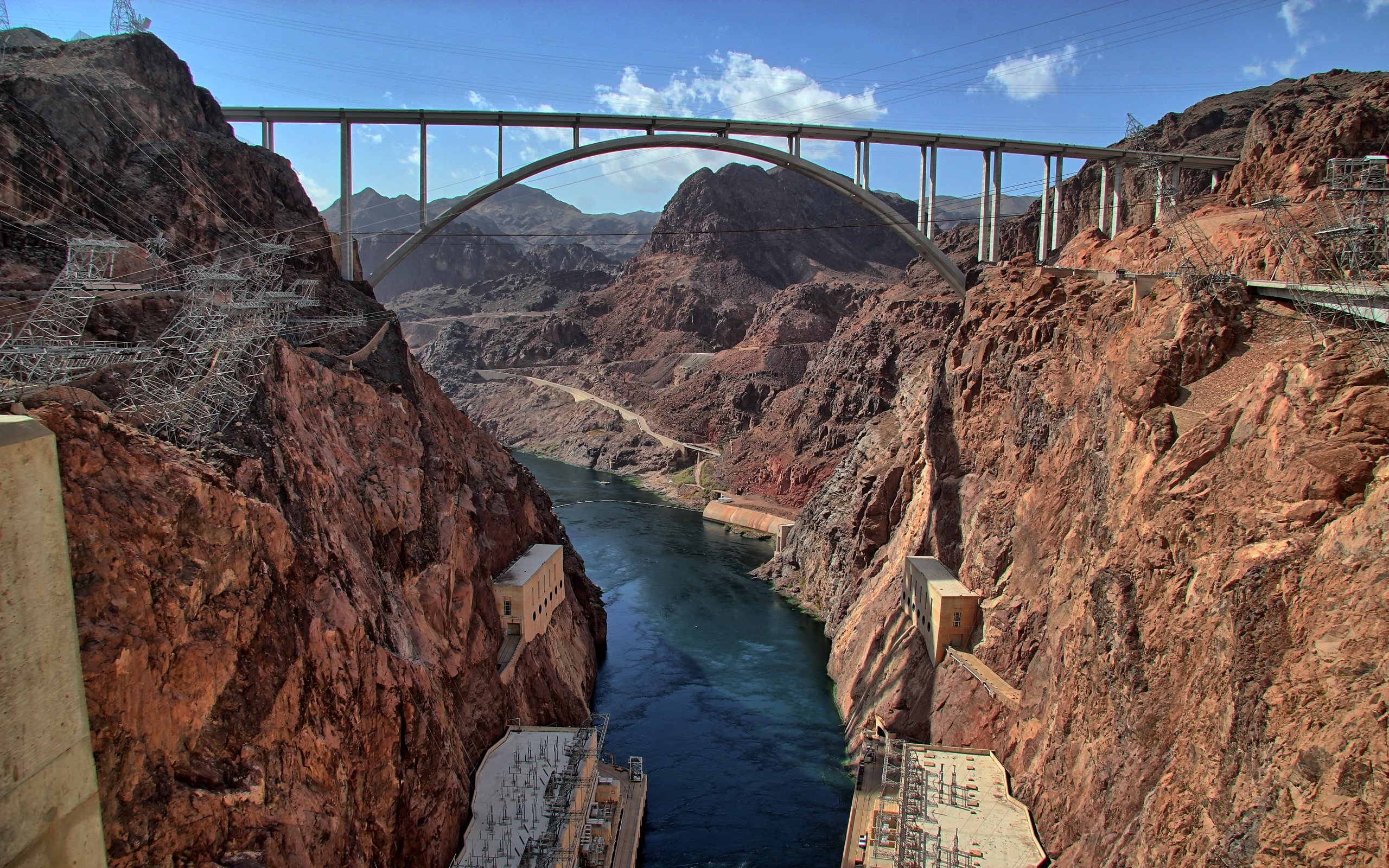 High resolution Hoover Dam hd 2560x1600 wallpaper ID493944 for 2560x1600