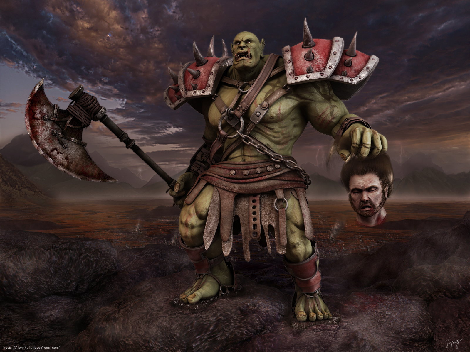 Orcs wallpapers Orcs background   Page 11 1600x1200