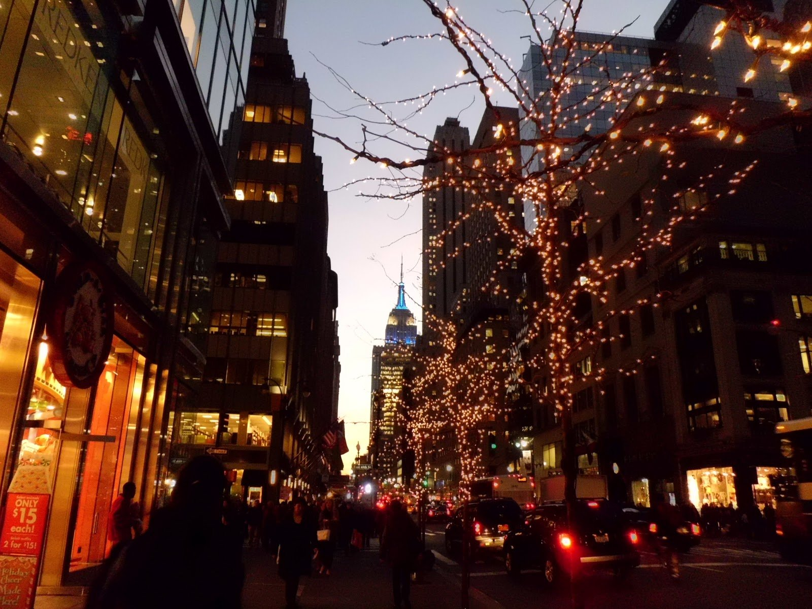 New York Christmas Wallpaper - WallpaperSafari