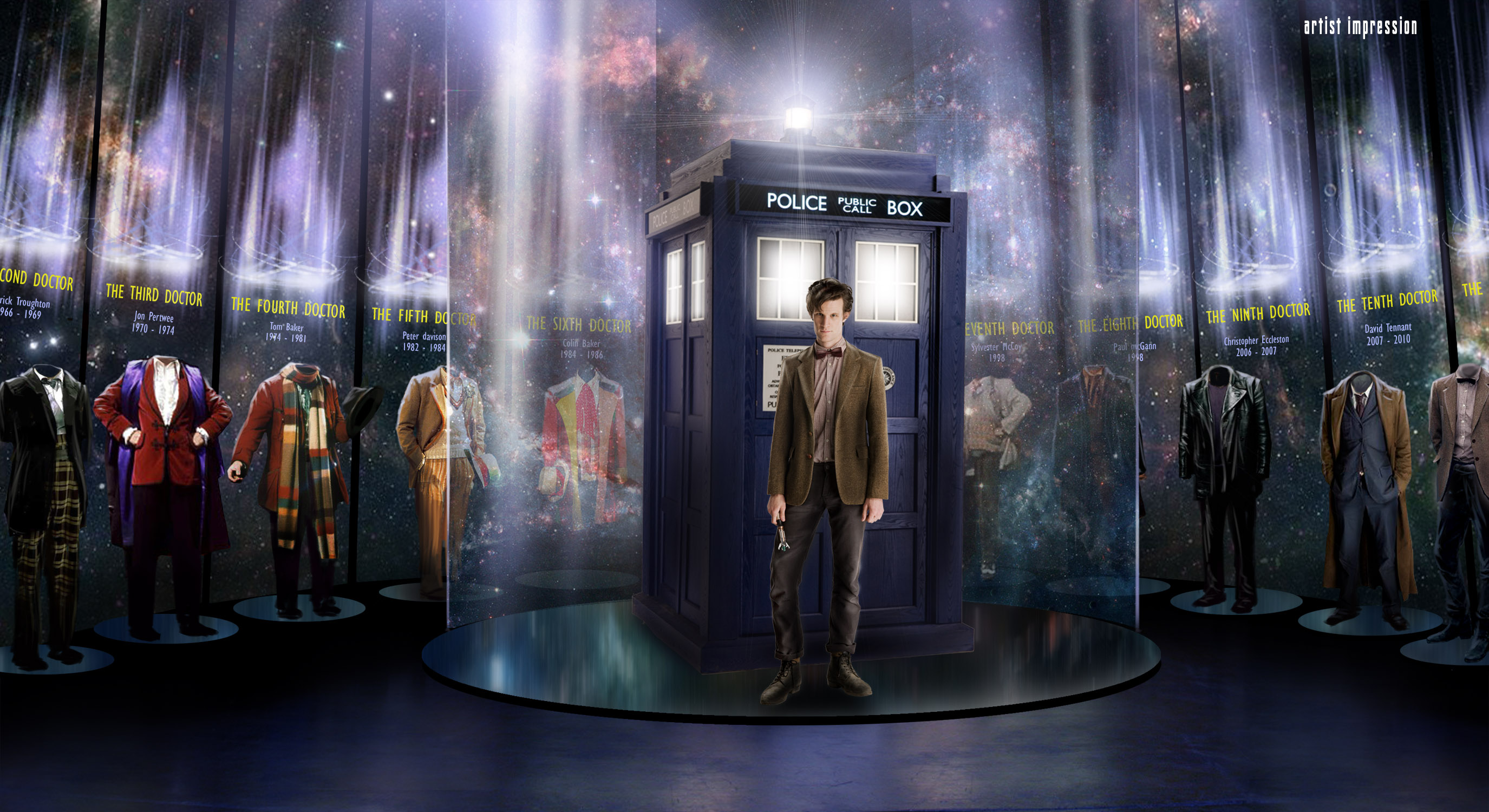 Download Doctor Who Wallpaper 11th 2750x1500