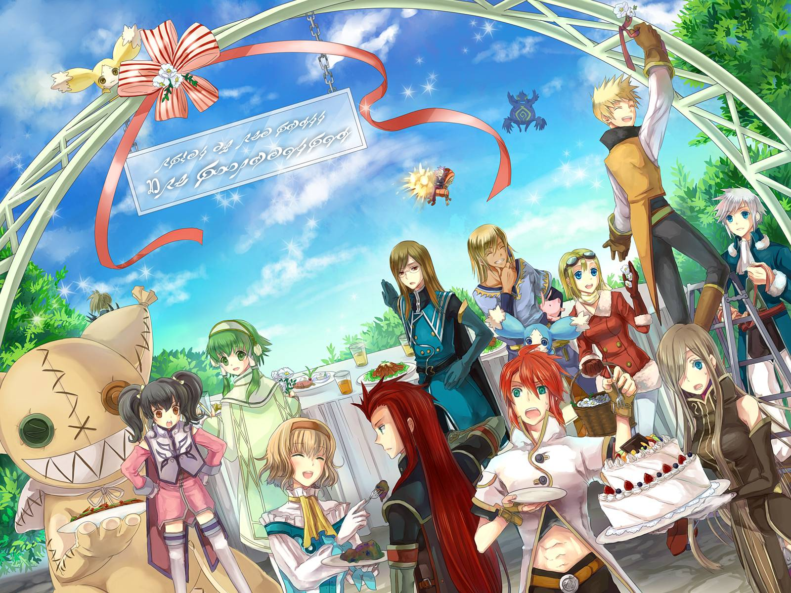 Tales Of The Abyss Wallpapers 1600x1200