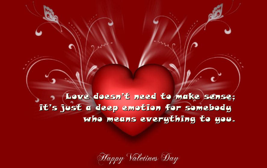 Valentines day wallpapers hearts 888x558