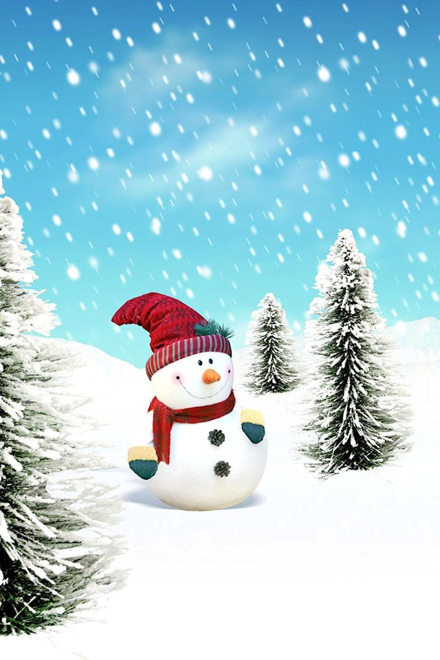 Merry Christmas Wallpaper Iphone  Christmas  Pinterest