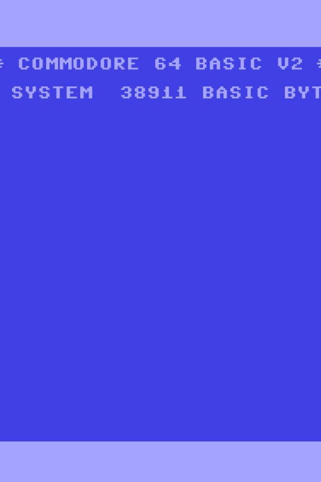 640x960 Retro C64 Iphone 4 wallpaper 640x960