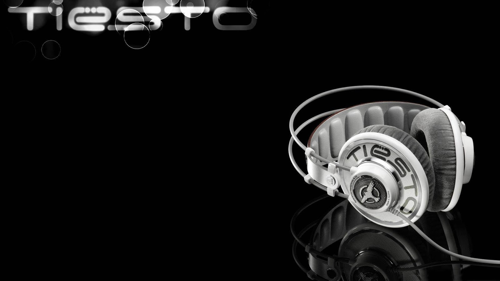 Tiesto Headphones Mystery Wallpaper 1600x900