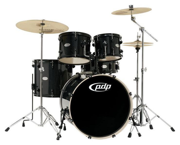 Drums Pdp Main Stage 5 Piece Drum Set With Sabian Cymbals Wallpaper 740x599