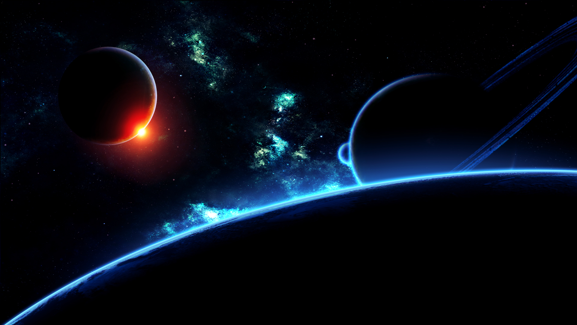 Download deep space HD wallpaper 1920x1080