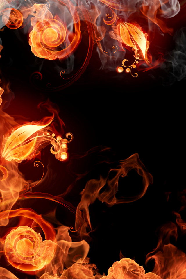 Fire Plants iPhone 4s Wallpaper Download iPhone Wallpapers iPad 640x960