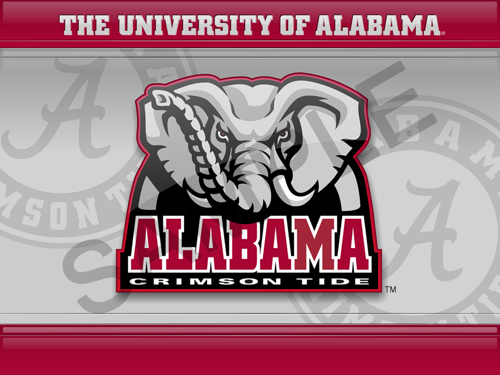 desktop wallpaper of University Of Alabama 1600x1200