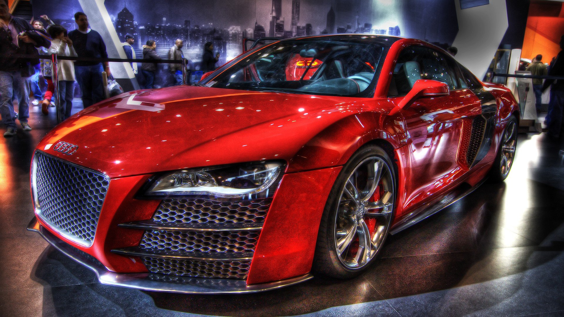 Audi R8 Red High Quality WallpapersWallpaper DesktopHigh 1920x1080