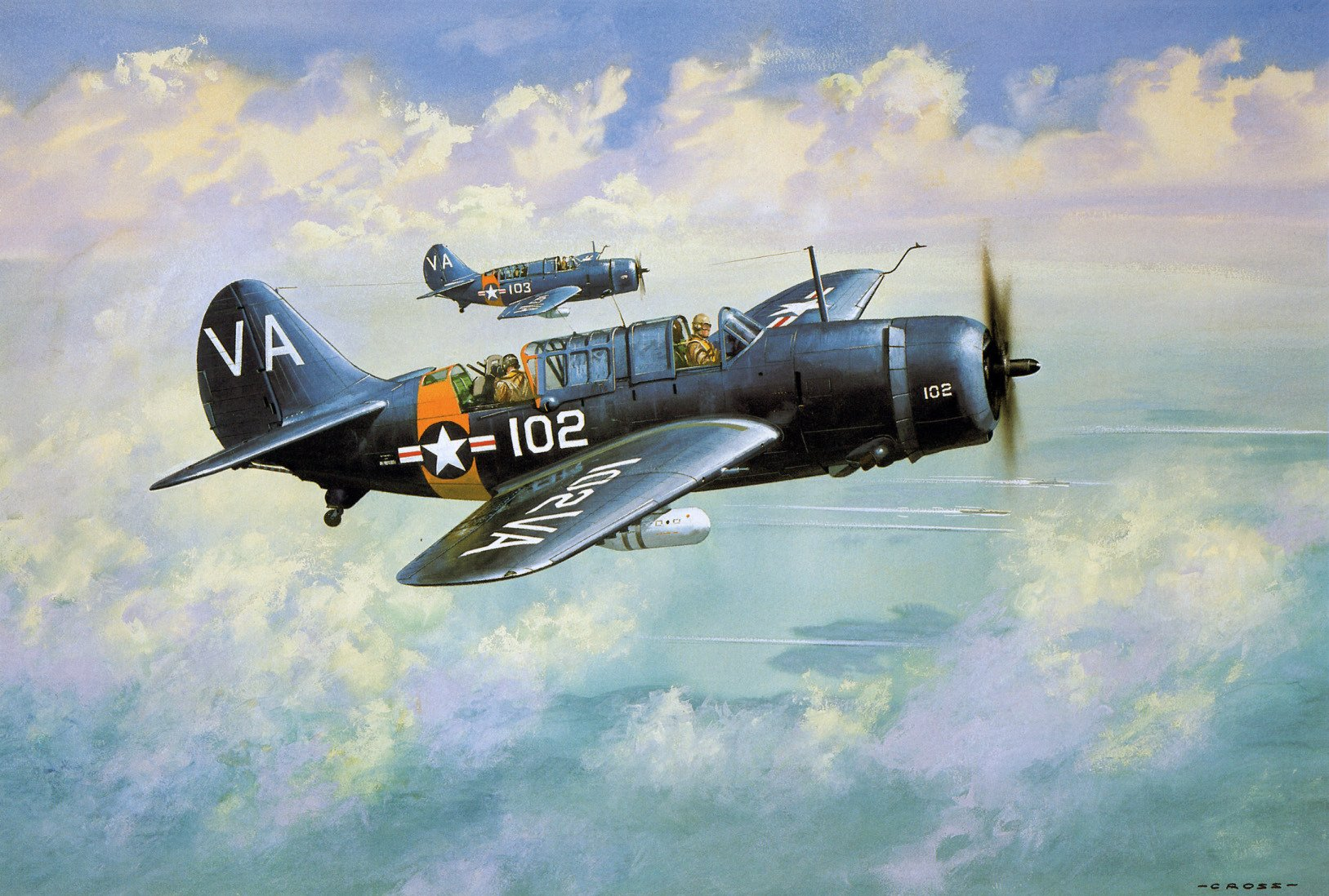A pair of SBD Dauntless Wallpaper and Background Image 1627x1098 1627x1098