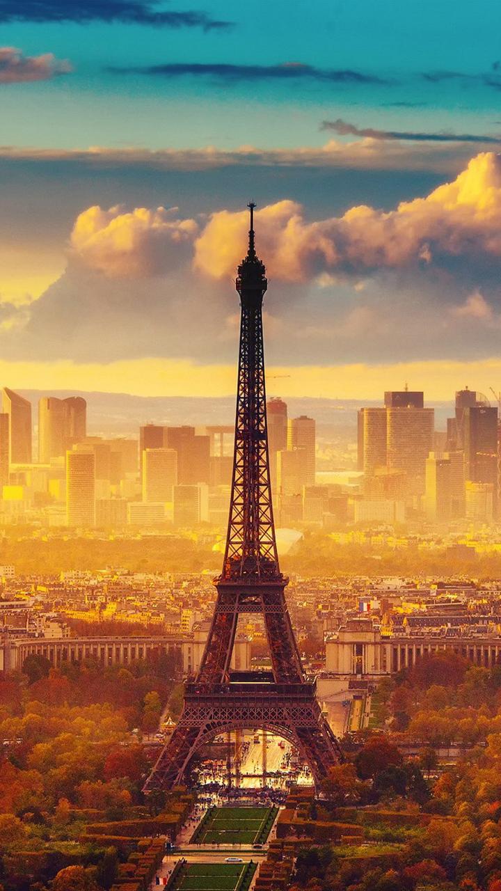 Free Download Eiffel Tower Lock Screen 720x1280 Samsung Galaxy S3