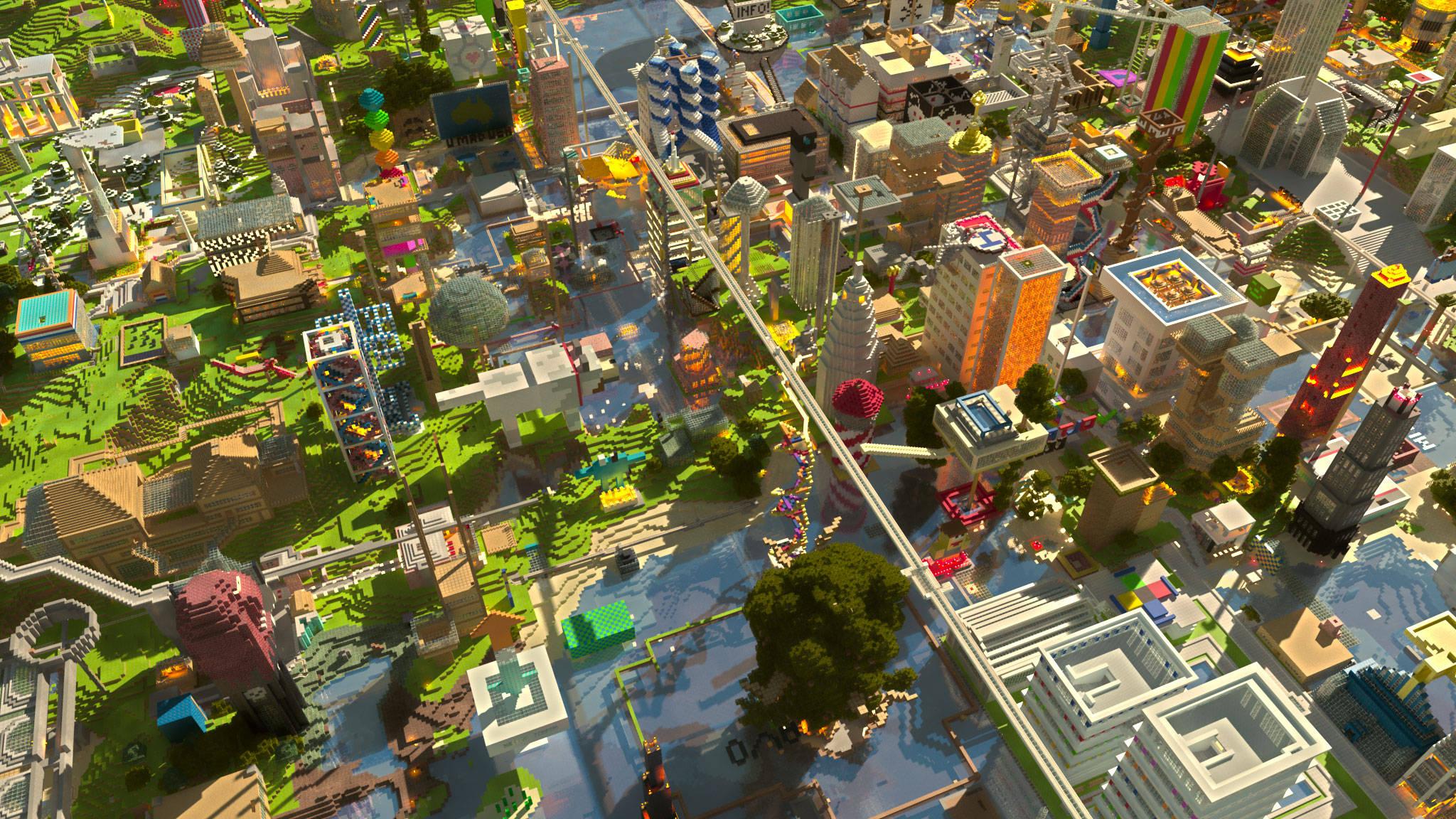 Minecraft 20482151152 Wallpaper 1115942 2048x1152