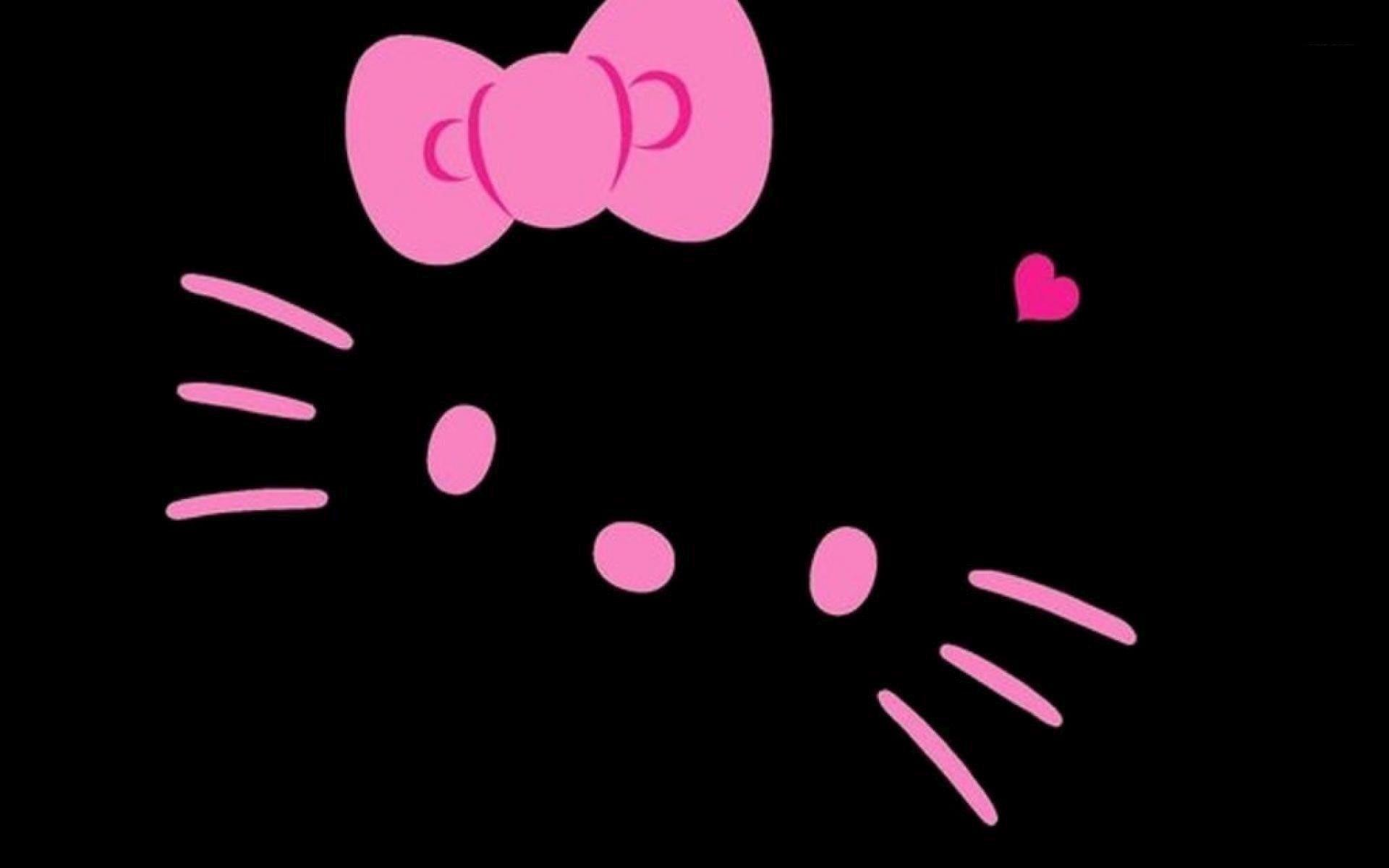 Pink And Black Hello Kitty Backgrounds 1920x1200