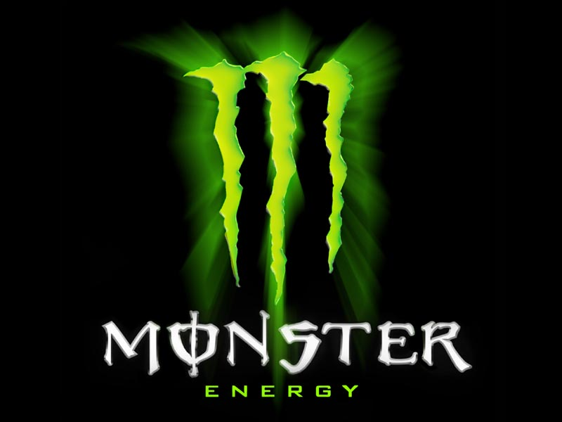 Wallpaper Monster Logo 800x600