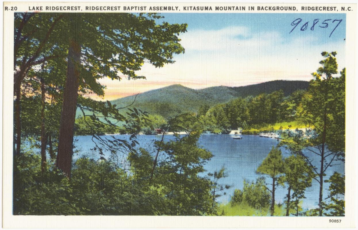Lake Ridgecrest Ridgecrest Baptist Assembly Kitasuma Mountain in 1245x800