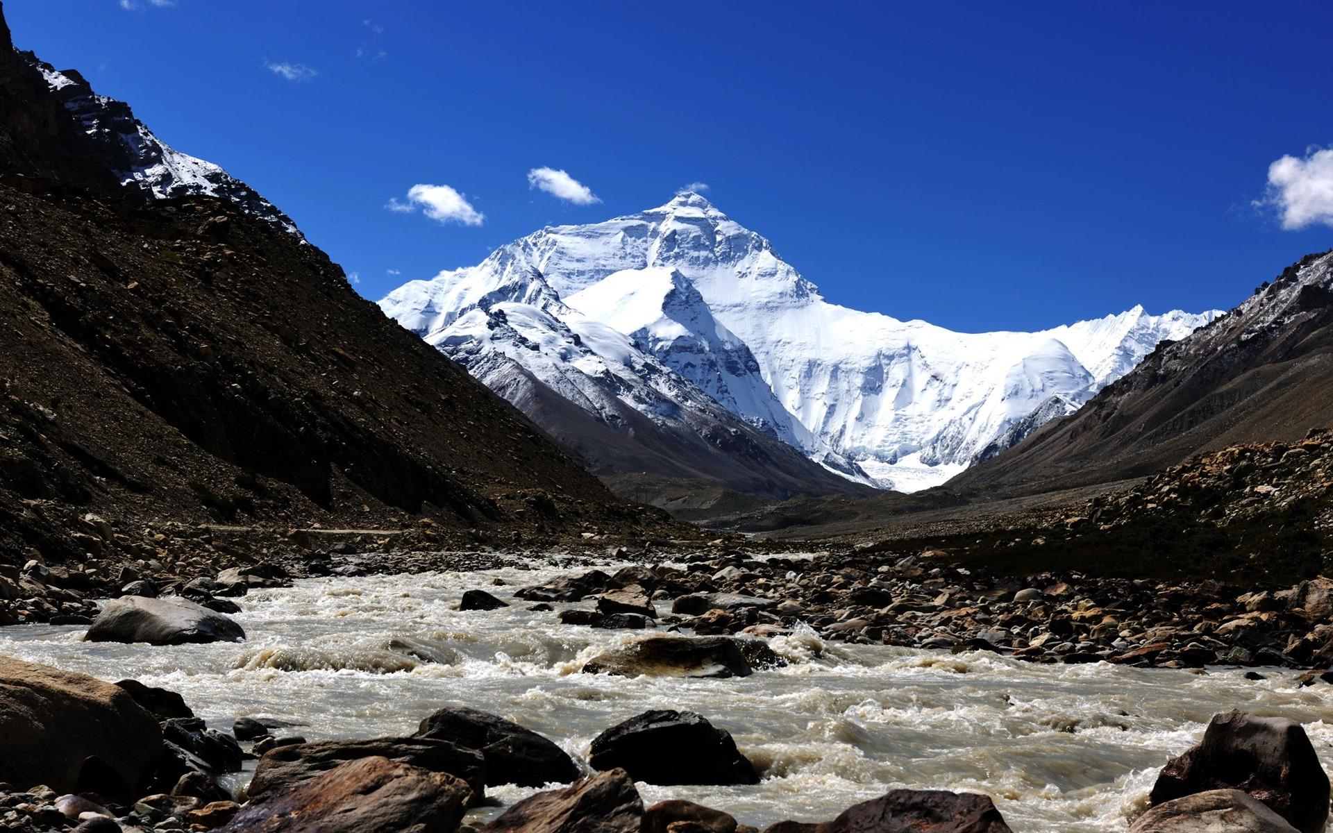 tibet snow mountain scenic wallpaper fonds d cran tibet pc et 1920x1200