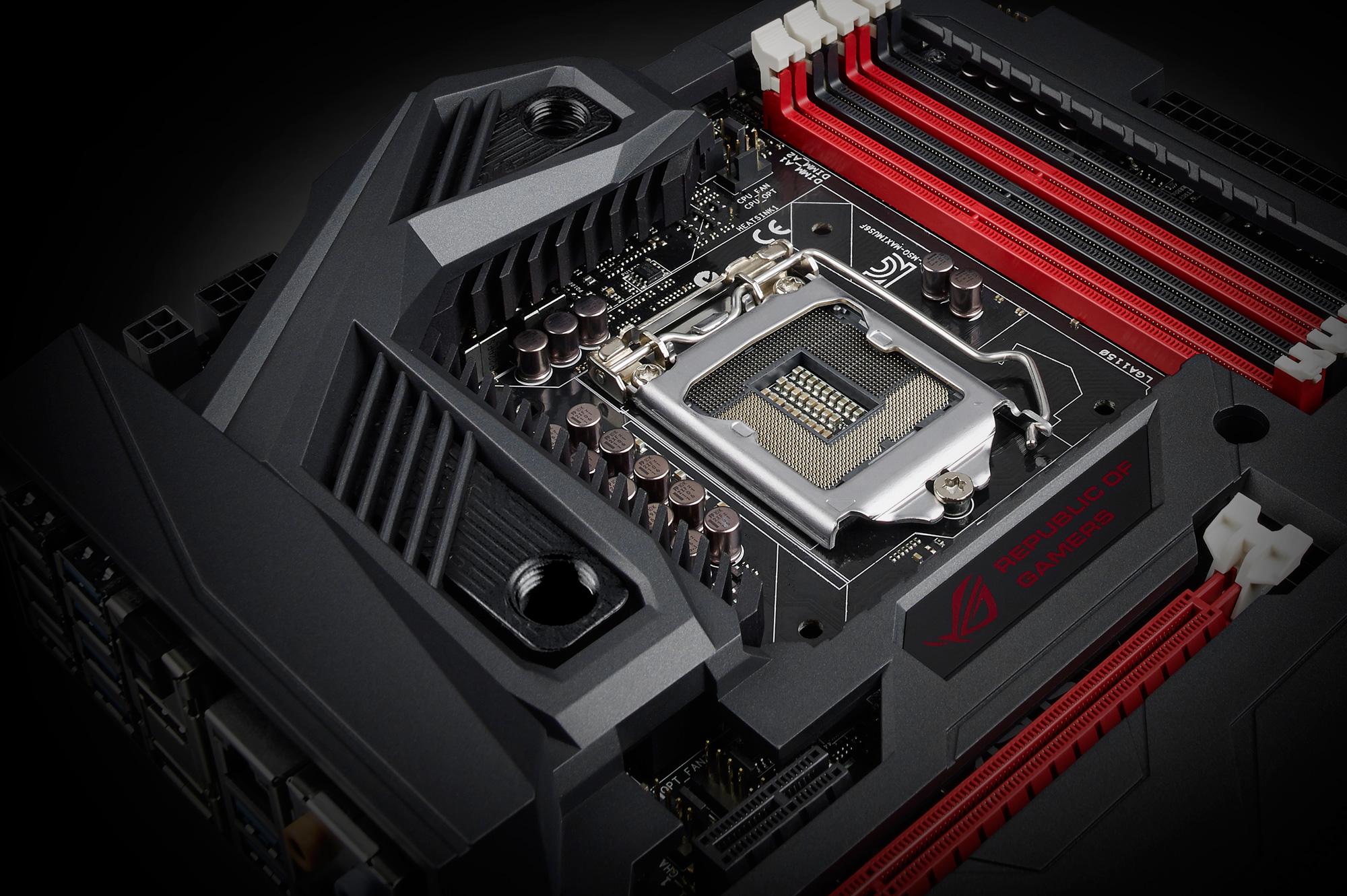 ASUS Republic of Gamers Introduces Maximus VI Formula Motherboard 2000x1331