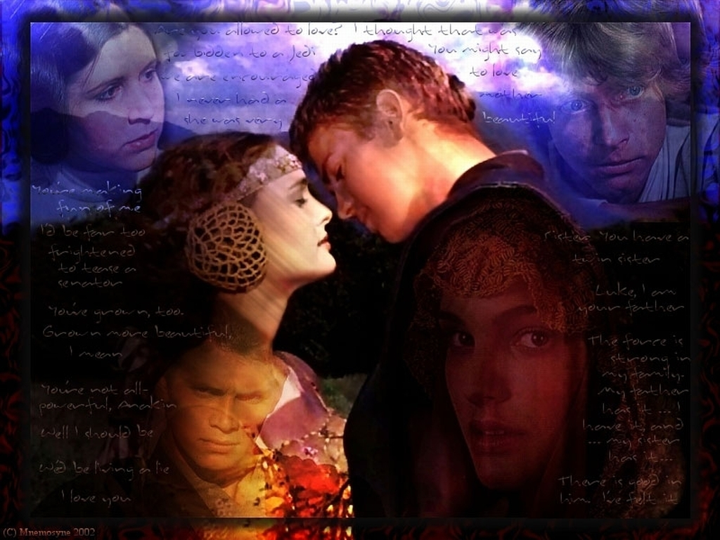 Anakin and Padme Wallpaper   Anakin and Padme Wallpaper 6345893 1024x768