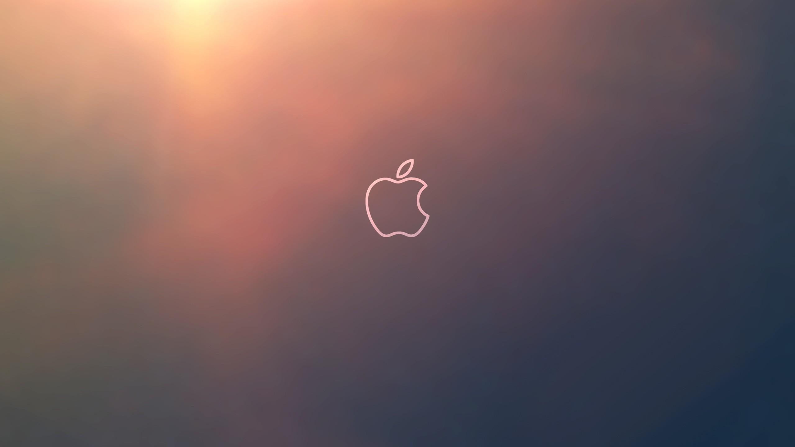 Apple logo outline computer hd wallpaper 2560x jpg 287781 2560x1440