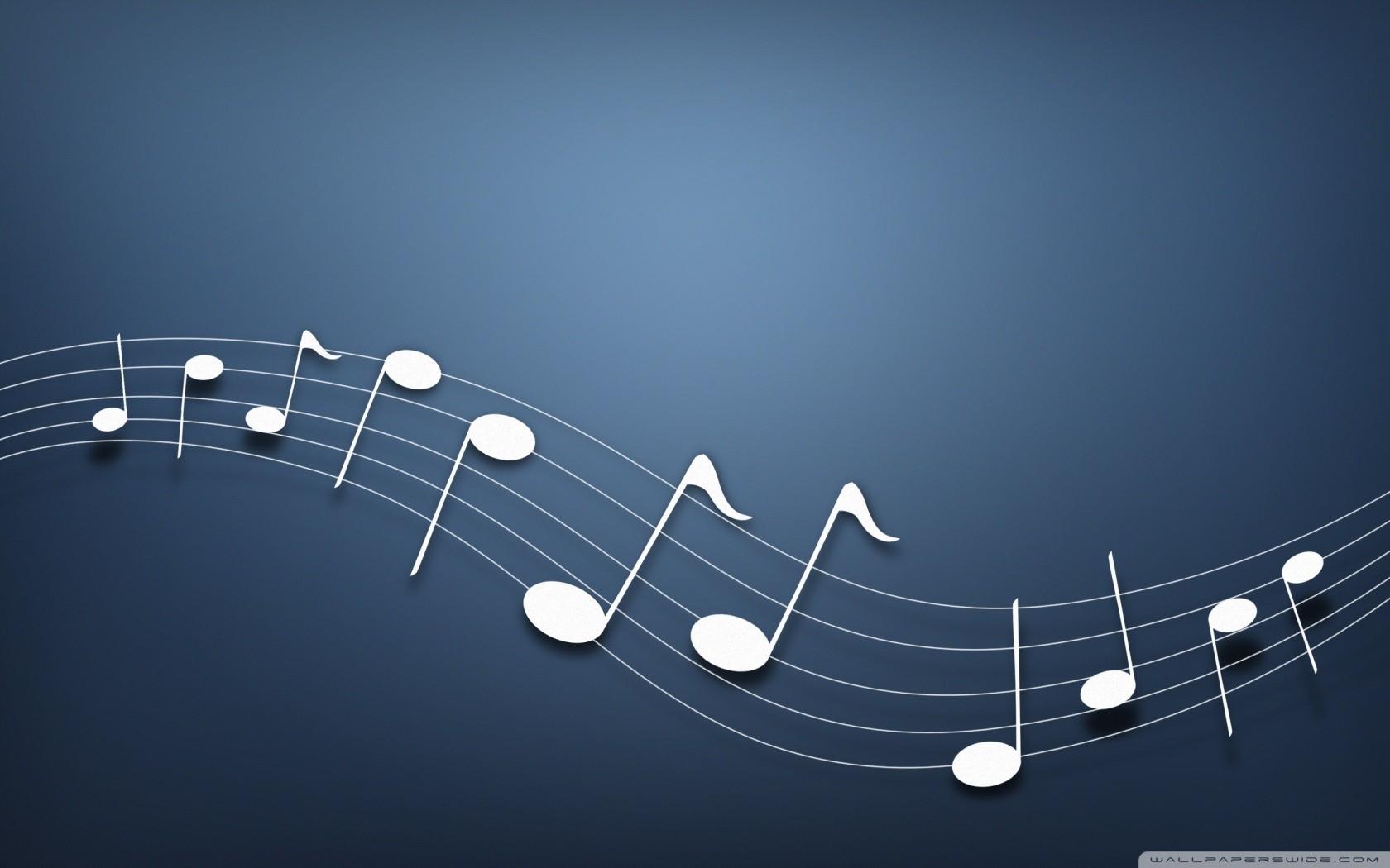 Cute Music Note Wallpaper