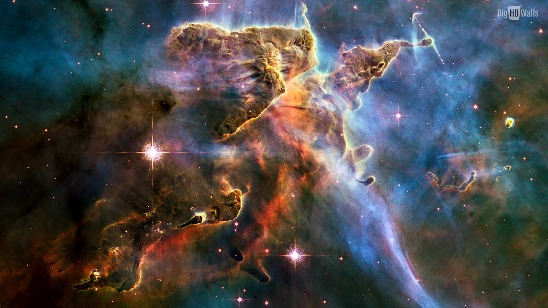 Carina Nebula hd wallpaper009 1920x1080