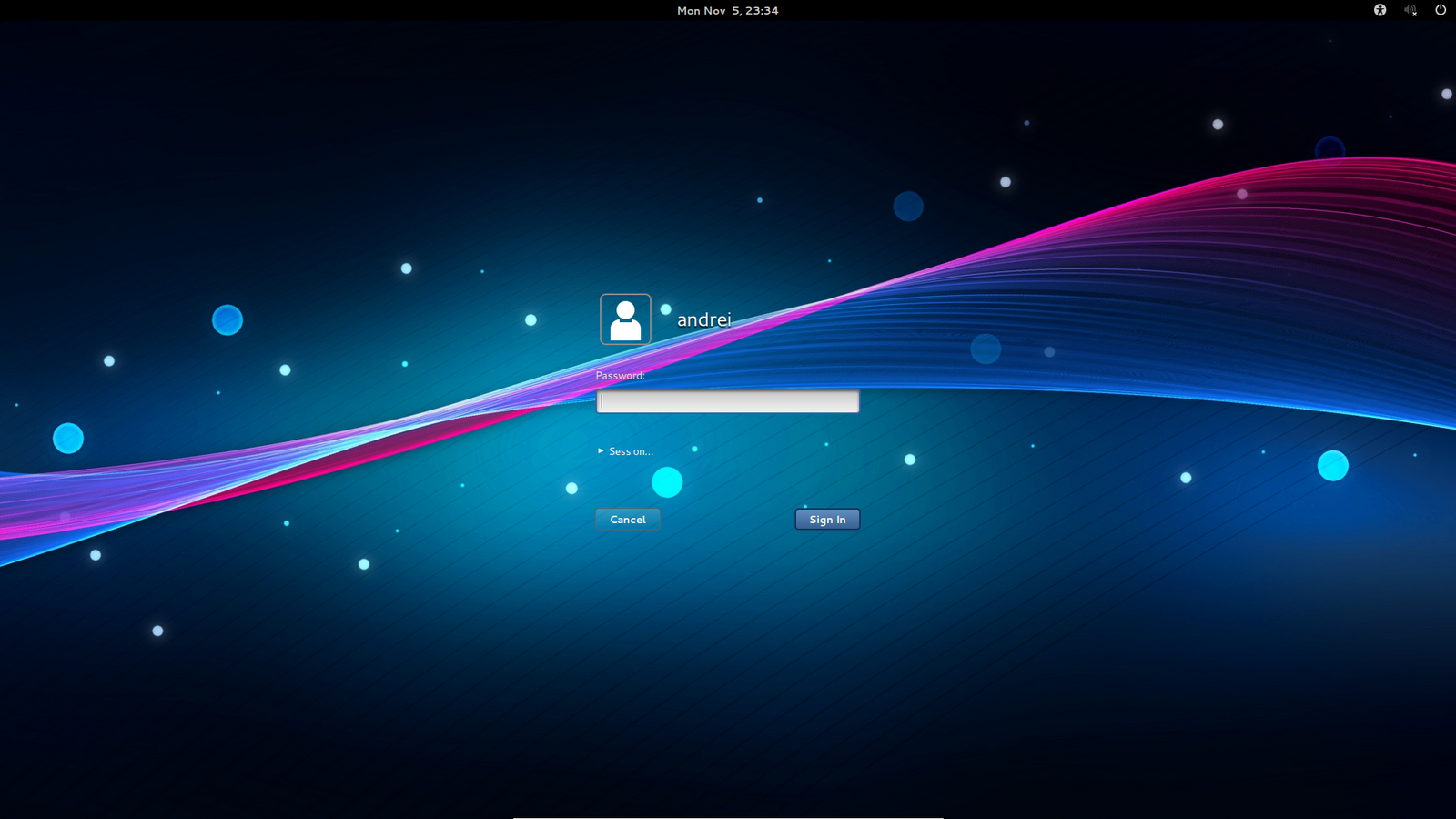 To Customize GDM 36 Login Lock Screen Change Theme Wallpaper 1600x900