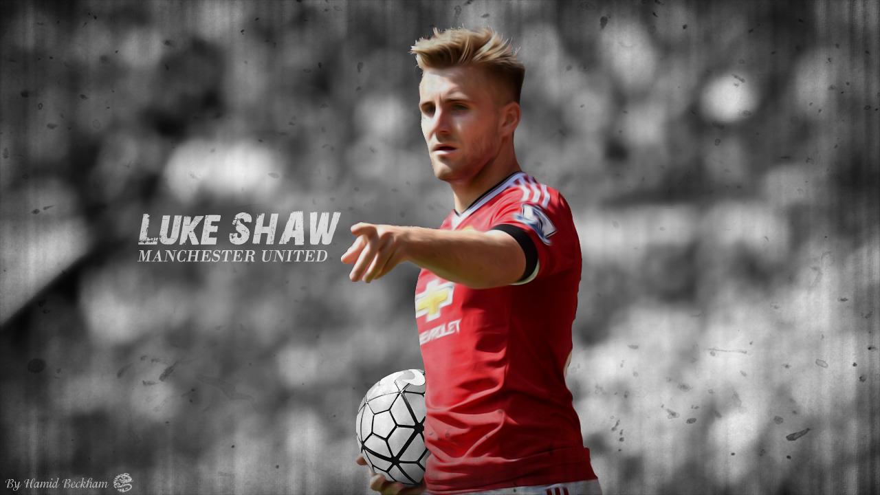 Luke Shaw Manchester United 2015 16 by HamidBeckham on 1280x720