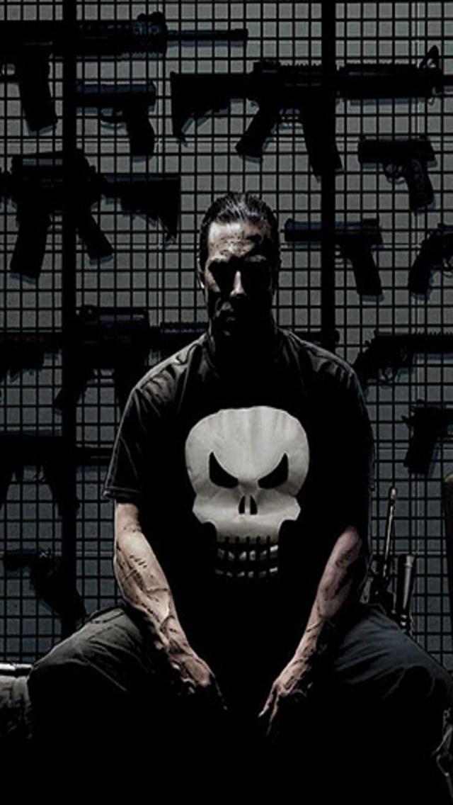 Punisher Phone Wallpaper - WallpaperSafari