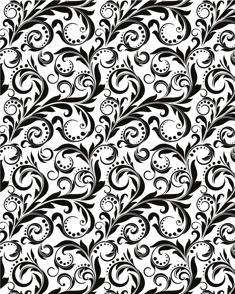 Black and White Swirl Wallpaper - 348.5KB