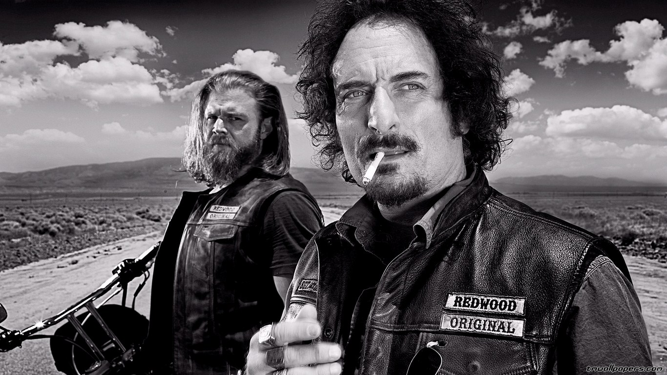 Free Download Serie Tv Sons Of Anarchy Wallpapers 1366x768 For
