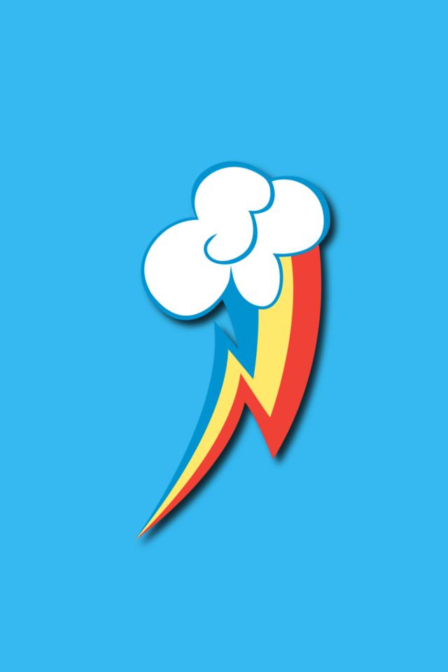 Rainbow Dash Phone Wallpaper