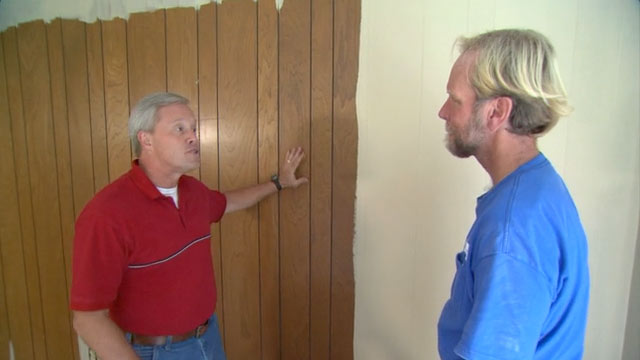 How To Paint Paneling Todays Homeowner 640x360