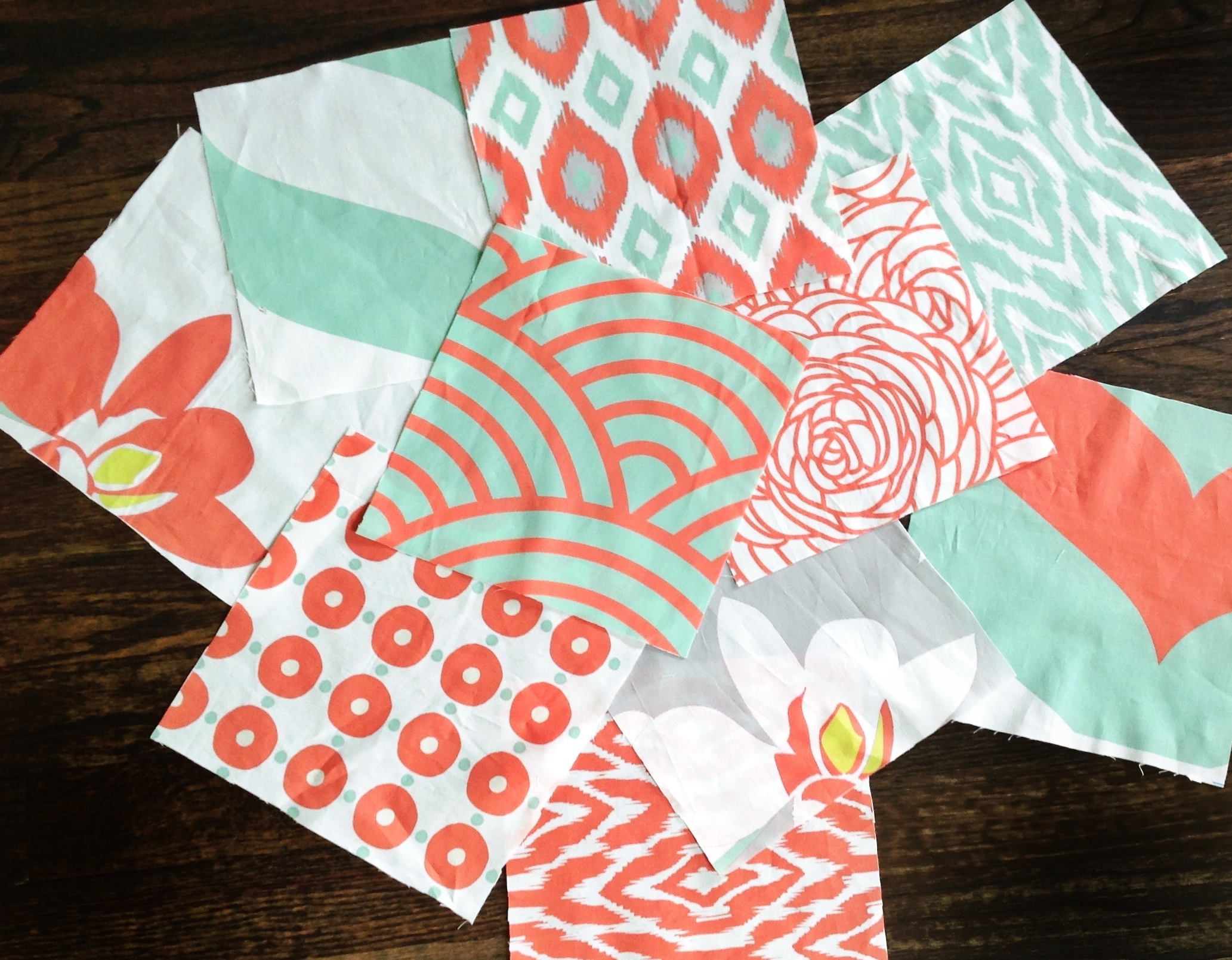 popular colors of navy mint coral citron green and light gray 2065x1610