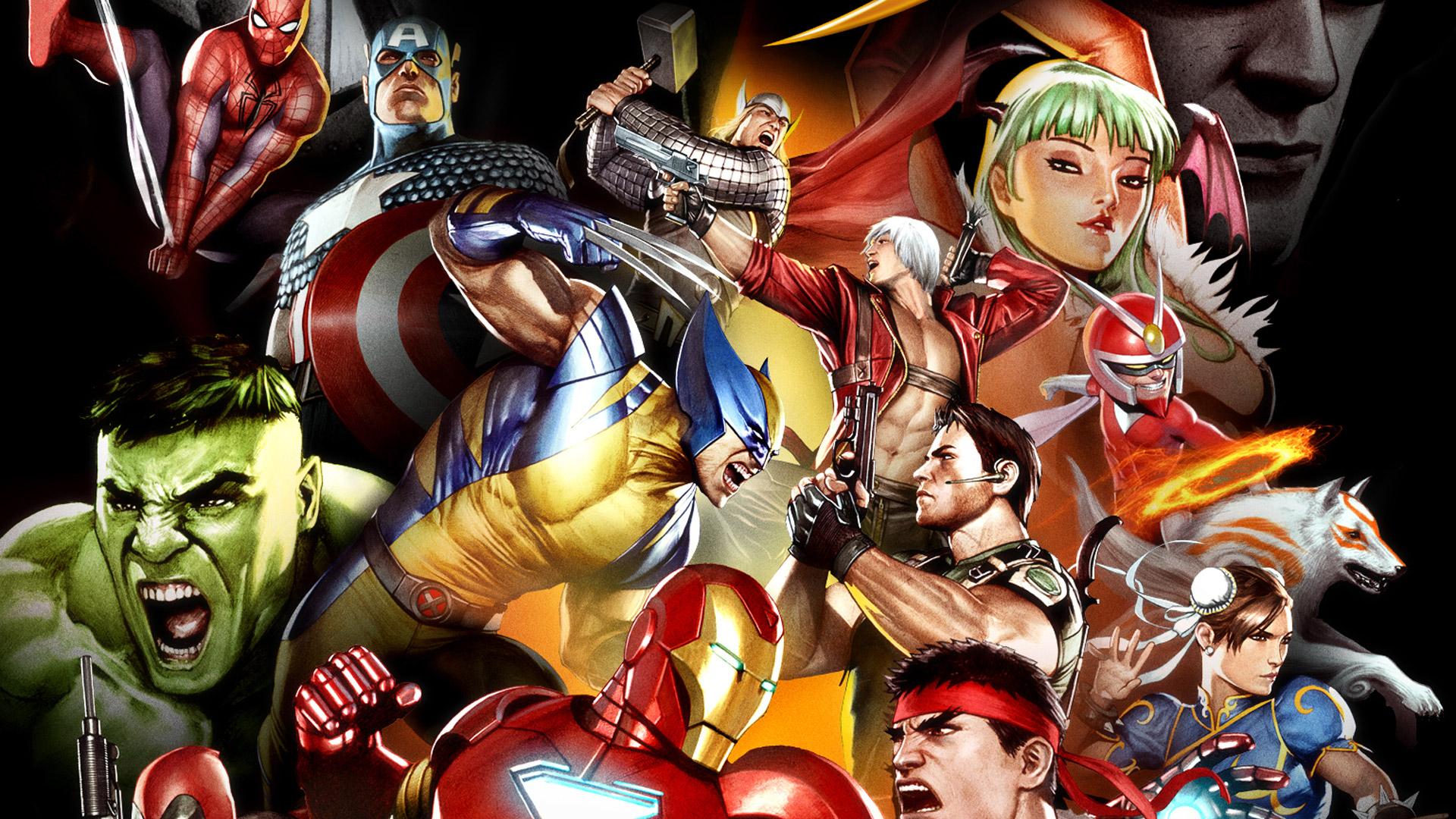 Free Download Pics Photos Marvel Vs Capcom 3 004 Desktop